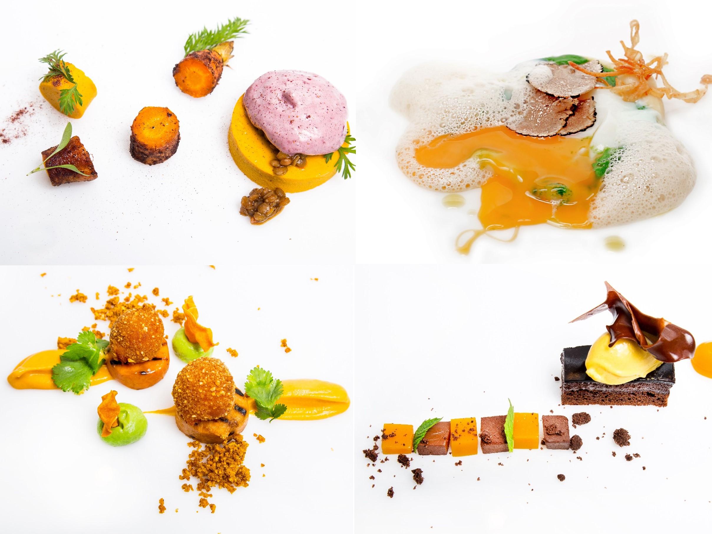 vegetarisches Gourmet-Menue